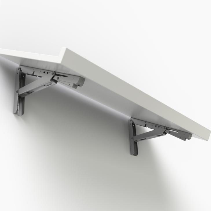 Robust slanted shelf
